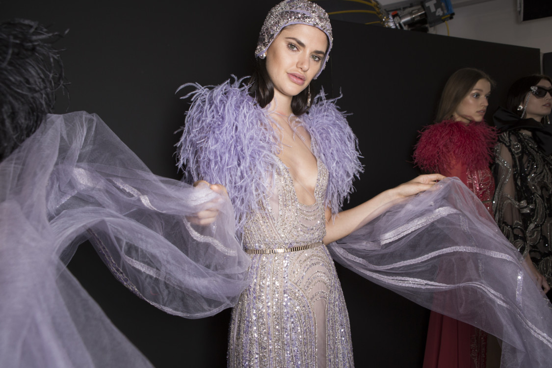 Elie Saab Couture весна-лето 2018