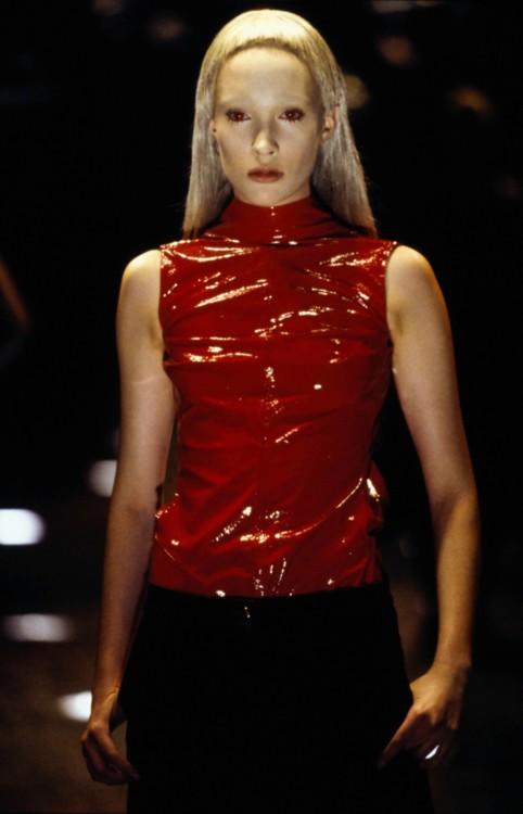 Alexander McQueen осень 1998