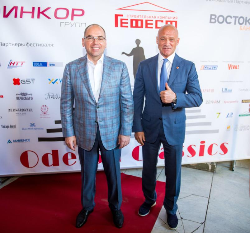 Максим Степанов и Геннадий Труханов (справа)