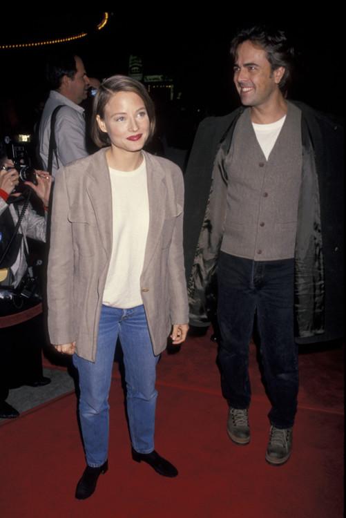 """Джоди Фостер на премьере фильма """"Интервью с вампиром"""", 1994 год"""