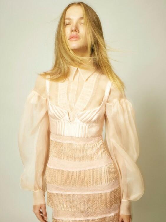 Платье и бюстье – Fendi