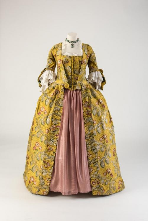 Платье во французском стиле, 1760