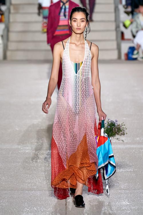 Градиентное платье Missoni