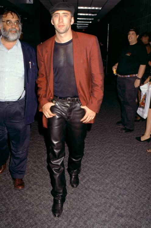 Николас Кейдж в Лас-Вегасе 19 августа 1995 года