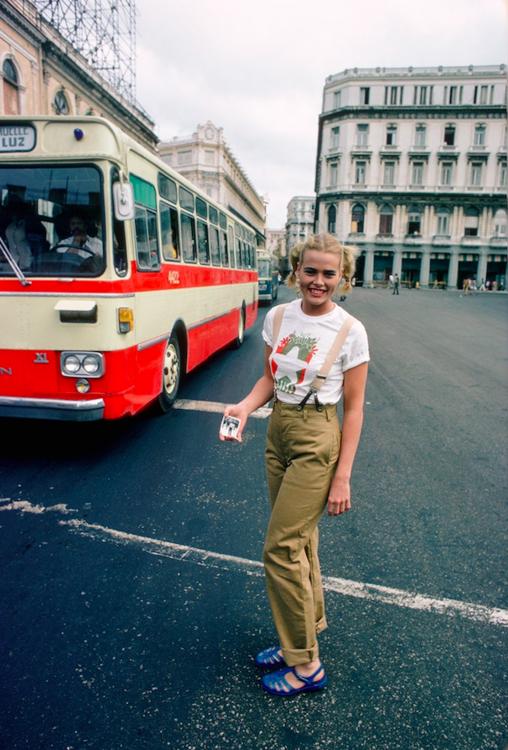 Марго Хемингуэй в Гаване, 1978