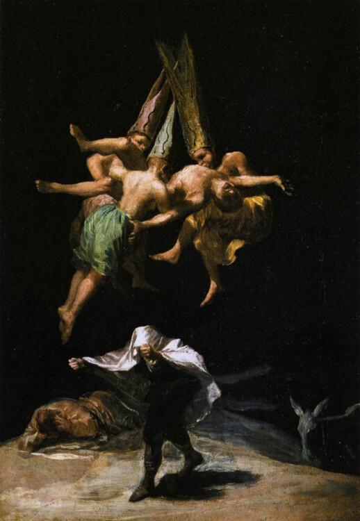 «Полет ведьм», 1798