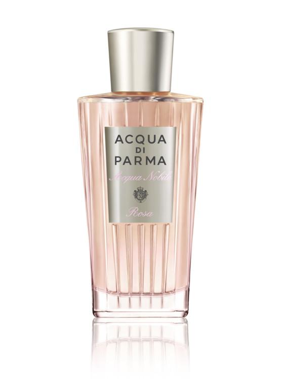 Rosa Acqua Nobile, Acqua di Parma с нотами роз на пышном мускусном облаке и вкраплениями мандаринового сока