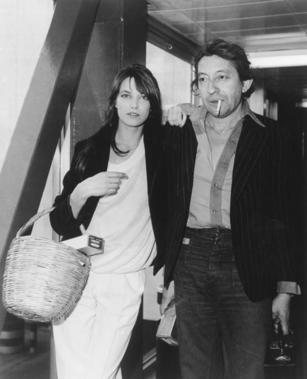 Серж Генсбург и Джейн Биркин, 1977