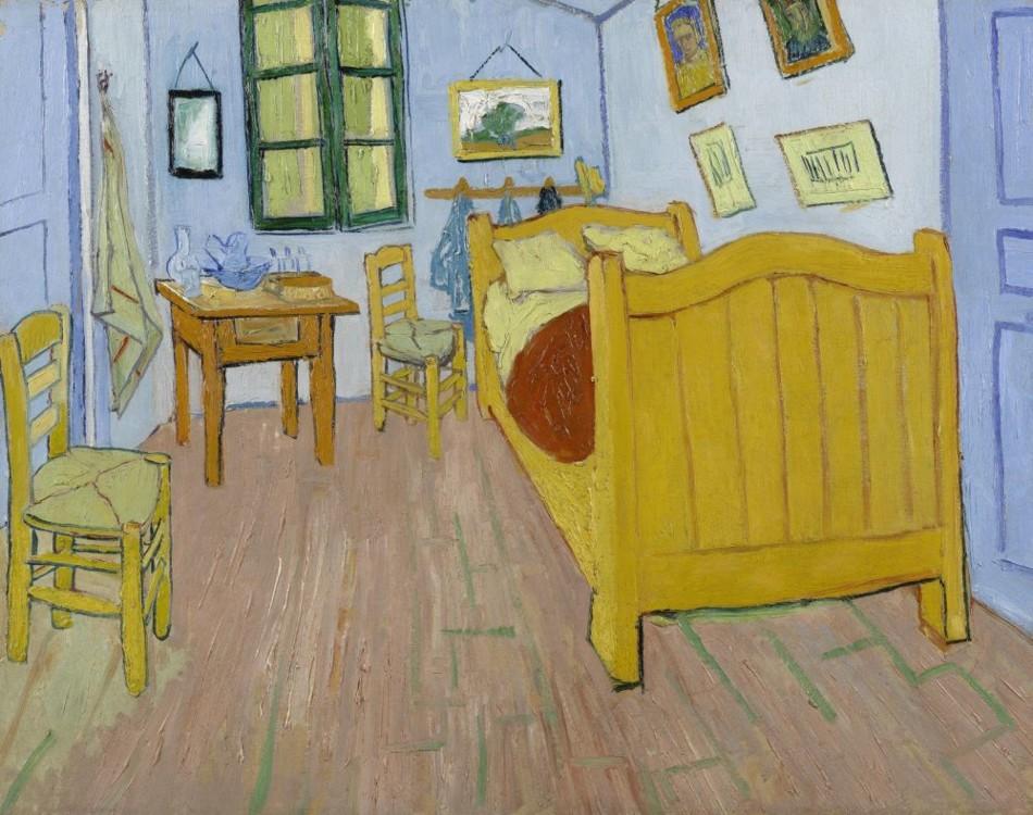 """""""Спальня в Арлі"""", 1888, Музей Ван Гога, Амстердам, Нідерланди"""