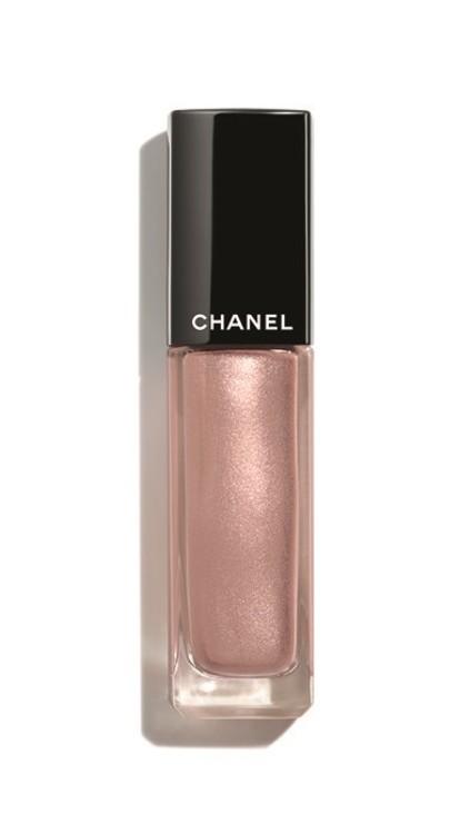 Жидкие тени с металлическим блеском Ombre Première Laque Quartz Rose из весенней коллекции макияжа Desert Dream, Chanel, лимитированный выпуск