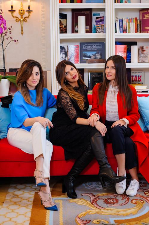 Фаина Тадеева, Алина Алиева и Полина Габович