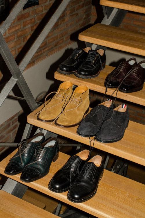 Обувь – Prada, Tom Ford, Saint Laurent, Thom Browne, Tom Ford, Valentino