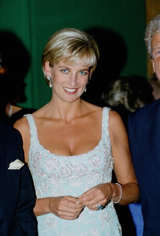 1997. Принцесса Диана на благотворительном приеме Christies