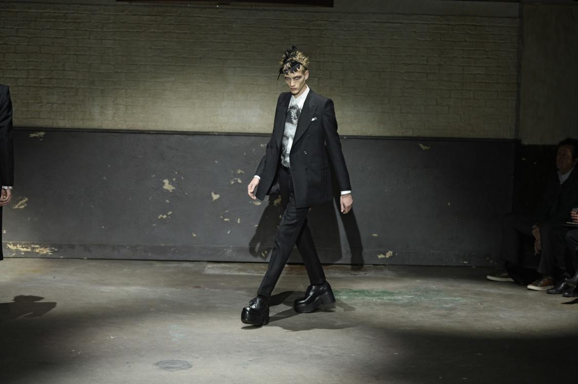 Alexander McQueen Menswear осень-зима 2014/2015