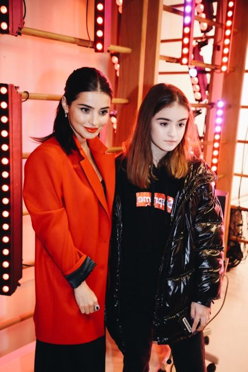 Фаина Тадеева с дочерью Дианой
