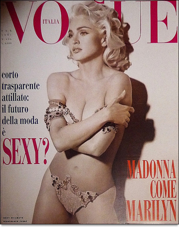 Vogue Italia, февраль 1992
