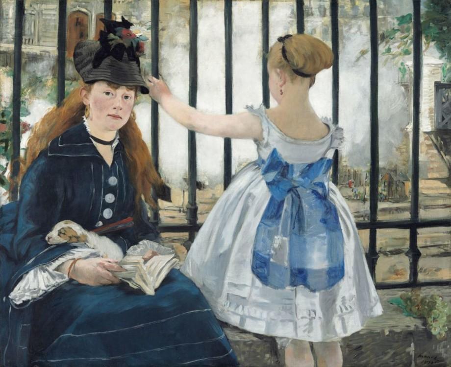 «Залізниця», 1873 (Національна галерея мистецтва, Вашингтон)
