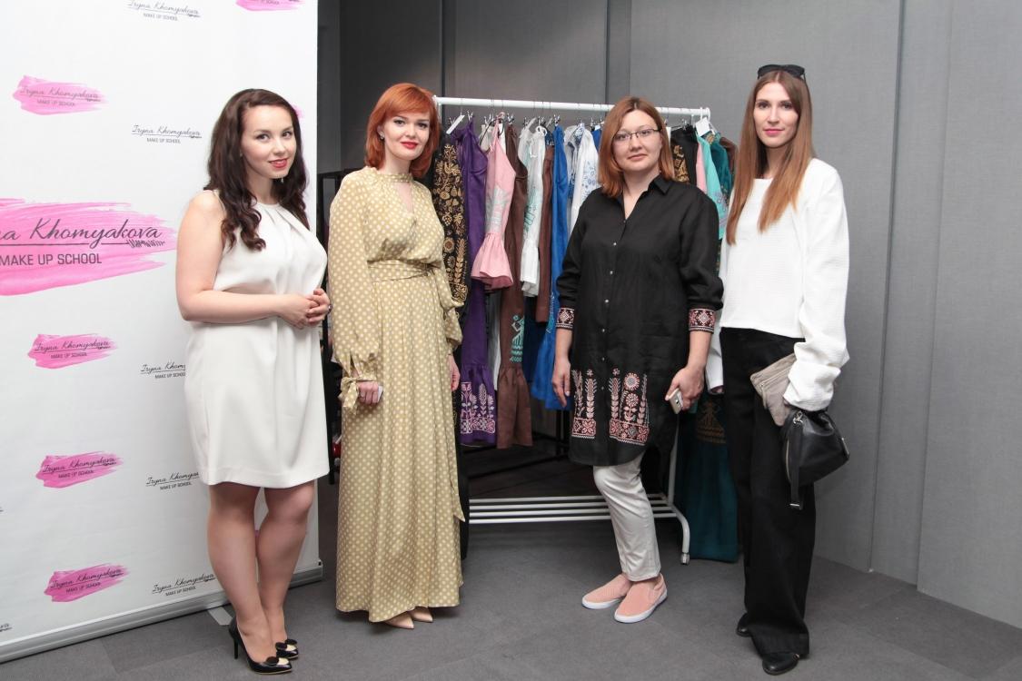 Анна Баланюк, Ирина Хомякова, Татьяна Щурова и Юлия Полтавская