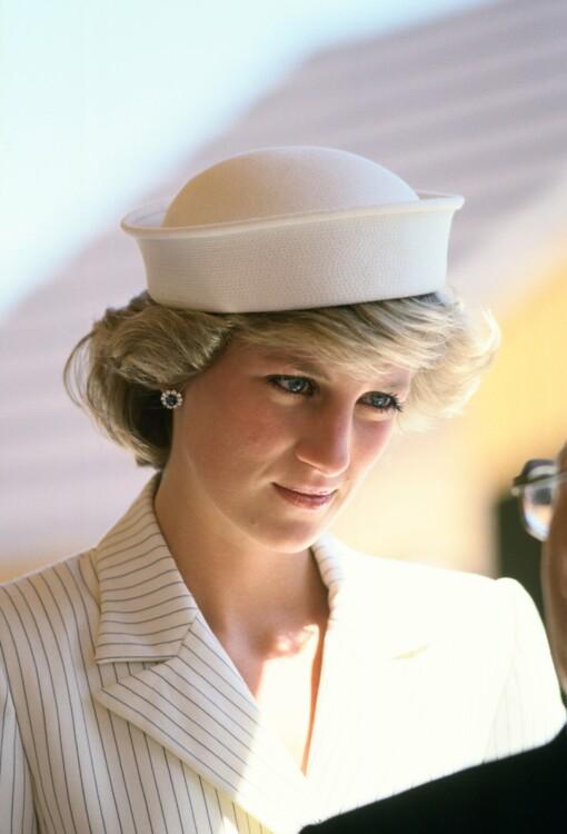 1985. Принцесса Диана в Италии