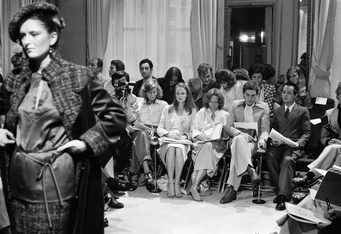 Jean Patou Haute Couture осінь-зима 1977/78, фото Кріса Мура