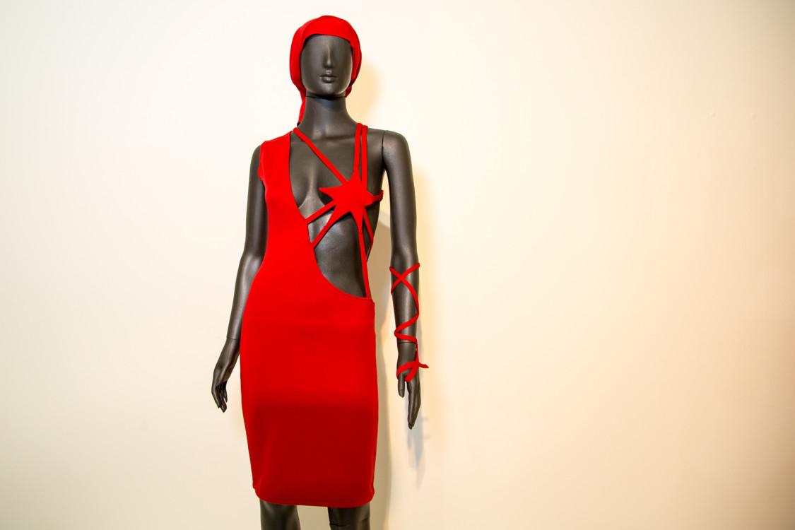 Ваня Рень, платье, 2-я половина 1990-х