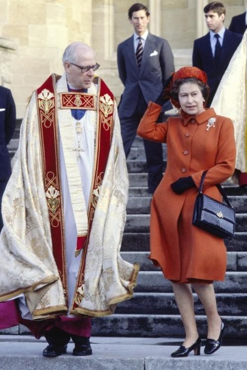 Єлизавета II, 25 грудня 1980 р.