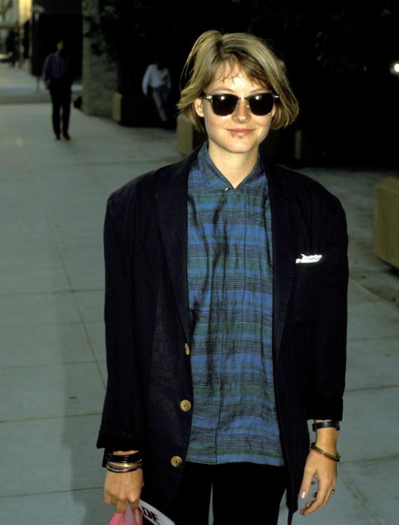 Джоди Фостер в Беверли-Хиллз, 1986