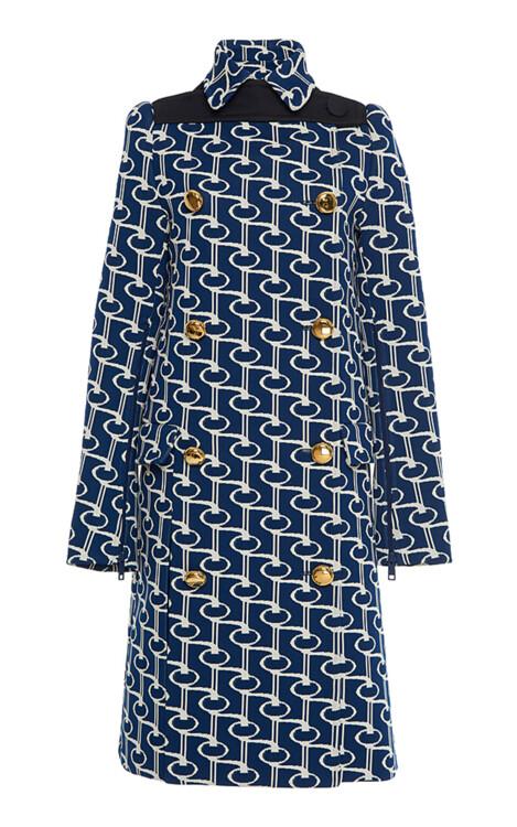 Пальто из жаккарда, Prada