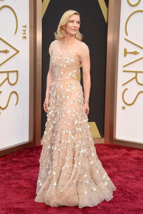 2014 год: Кейт Бланшетт в платье Armani Prive