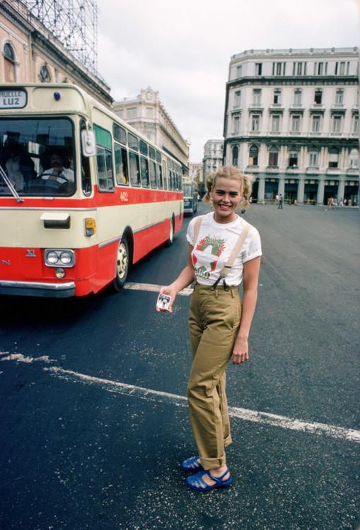Марго Хэмингуэй в Гаване, 1978 год. Фото: David Hume Kennerly/Getty Images