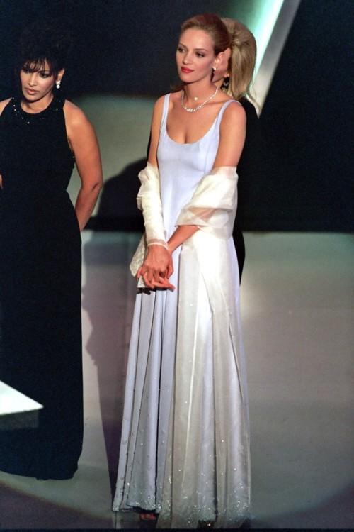 Ума Турман в Prada, 1995