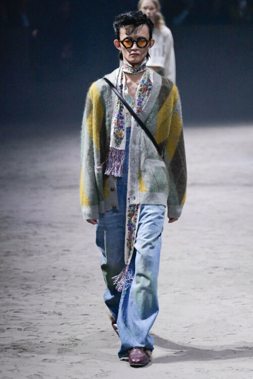 Gucci Menswear осень-зима 2020/2021