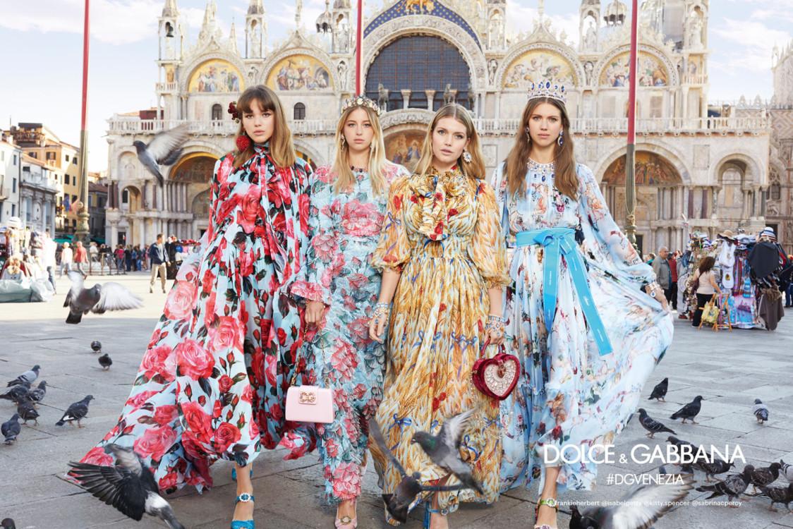Рекламная кампания Dolce & Gabbana, посвященная Венеции