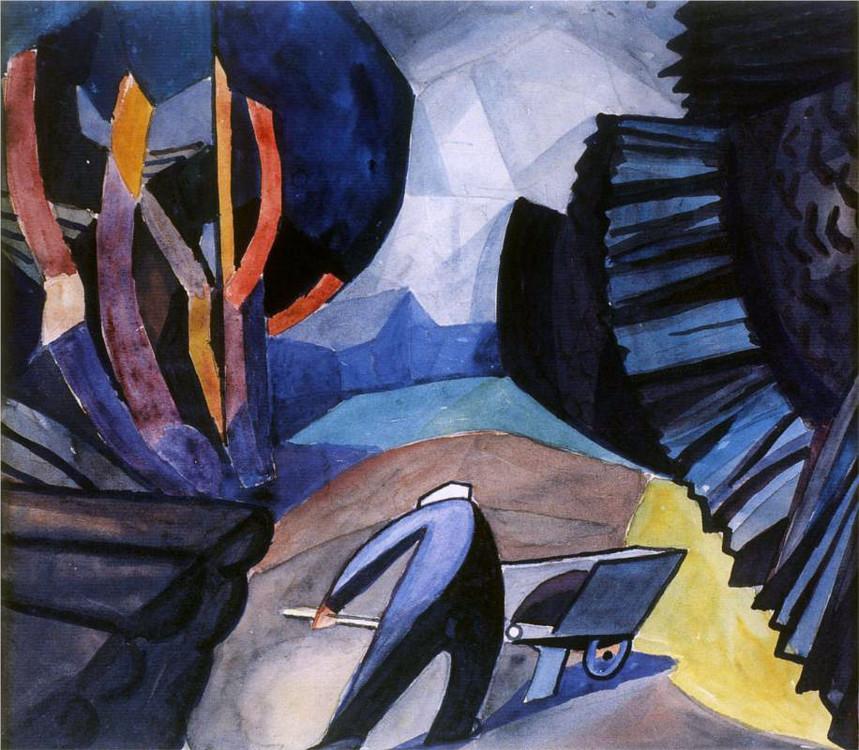 «Лесоруб», 1913 (Частная коллекция)