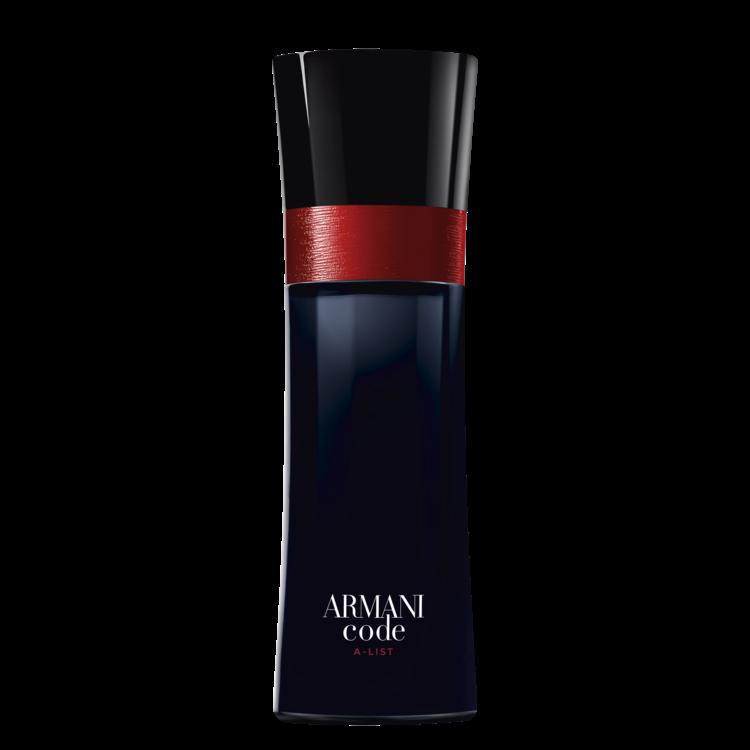 Armani Code A-List EDT, Giorgio Armani, с нотами бергамота, лаванды и абсолю бобов тонка