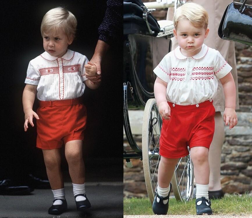 Принц Уильям, 1984 / принц Джордж, 2015