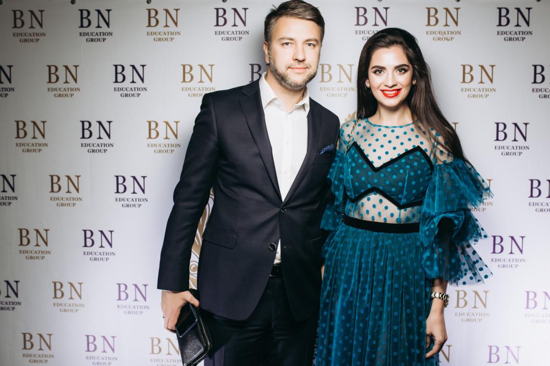 Элина Шаповалова с мужем