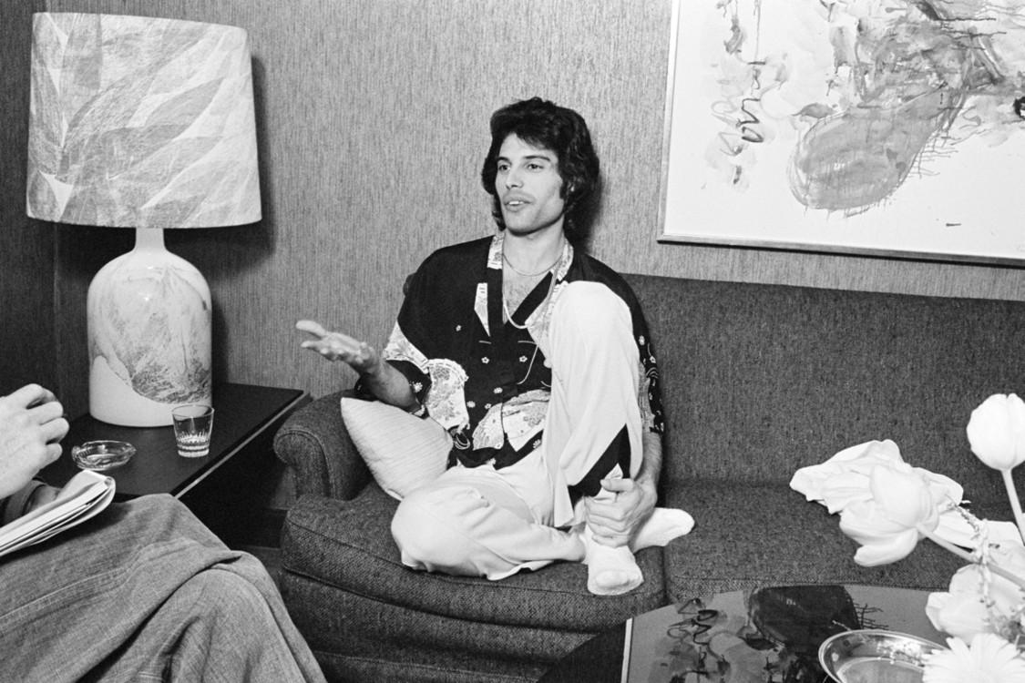 На гастролях в Дании, 1977