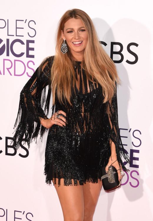 Блейк Лайвли в Elie Saab на церемонии People's Choice Awards, 2017