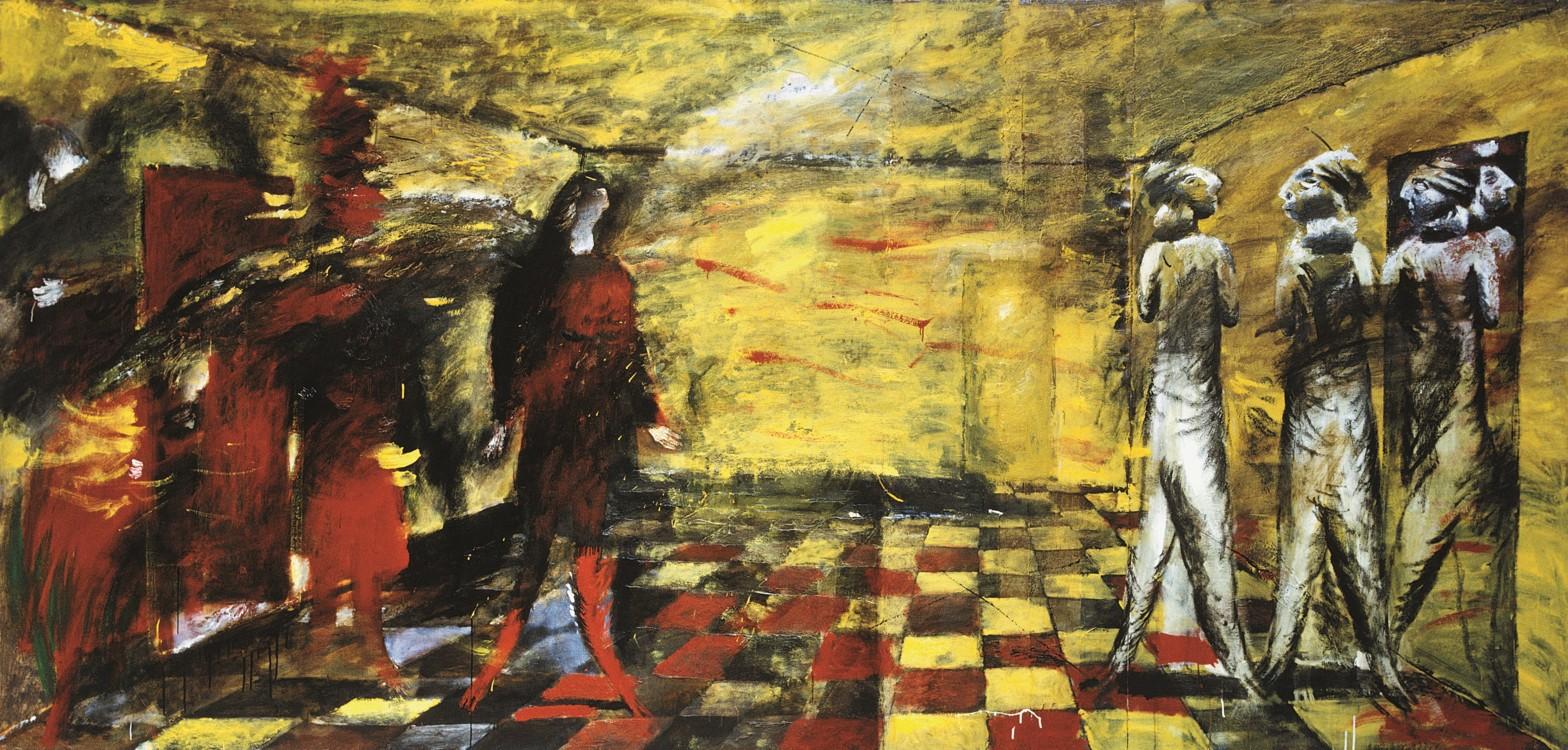"""""""Желтая комната"""", 1989"""