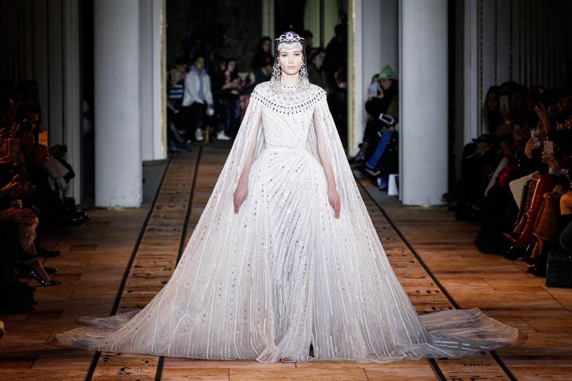 Віка Ігнатенко на шоу Zuhair Murad Couture весна-літо 2020
