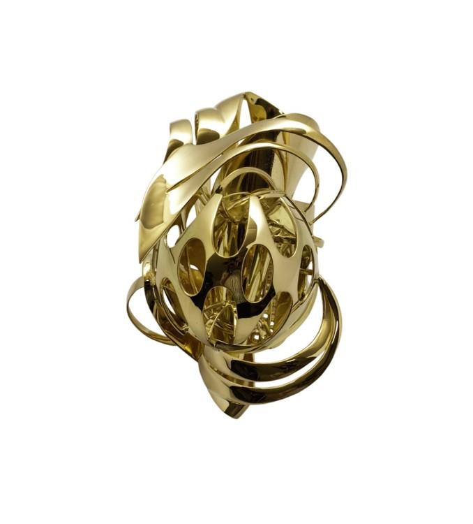 Кольцо, золото, Франк Стелла, 2010, серия лимитирована 5 экземплярами
