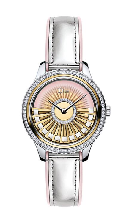 Часы Grand Bal, роторный механизм Dior Inversé, корпус из золота, ротор украшен золотыми пластинами, Dior Horlogerie