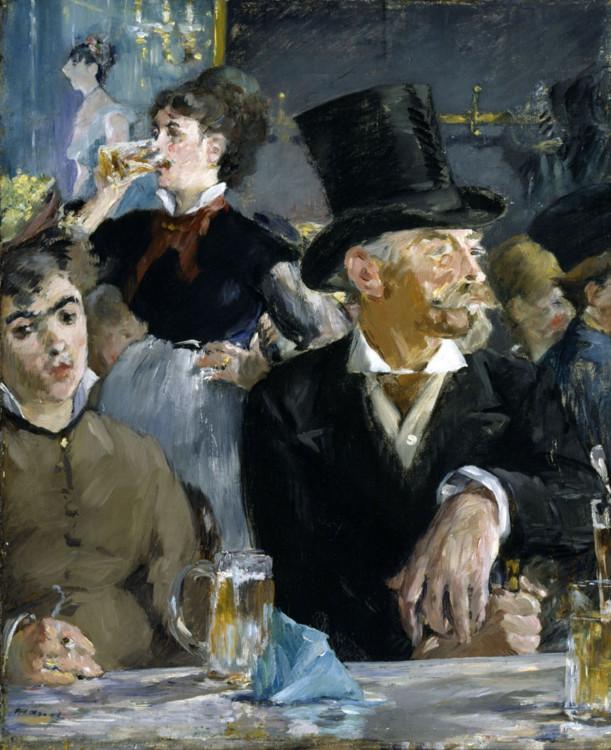 «На концерті в кафе», 1878 (Художній музей Волтерс, Балтімор)