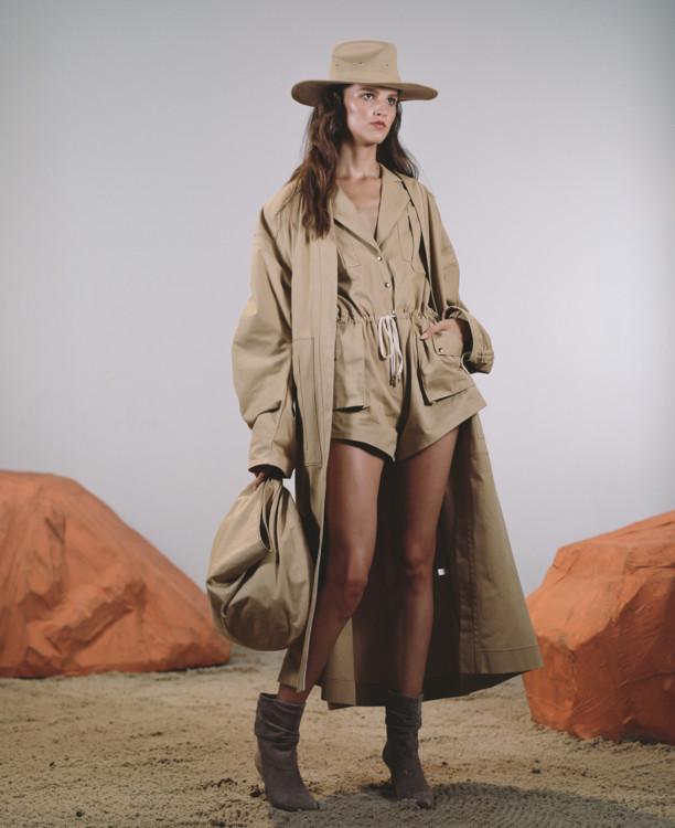 В новой коллекции Flow The Label дизайнер Виктория Баланюк представит свой взгляд на современную искательницу приключений