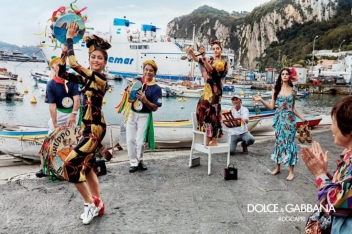 Рекламная кампания Dolce & Gabbana, посвященная Капри