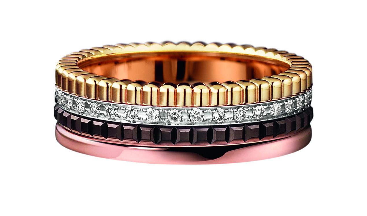 Кольцо Quatre с бриллиантами