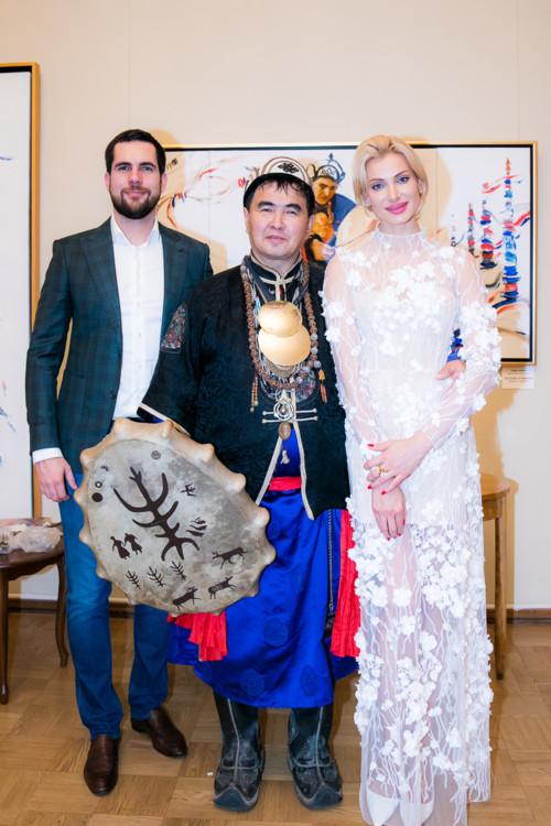 Сергей Уманец, Валентин Хагдаев и Лана Кауфман