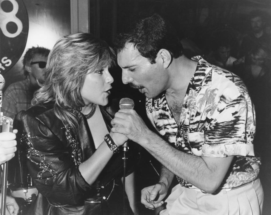 Фредди Меркьюри и Саманта Фокс, 1986