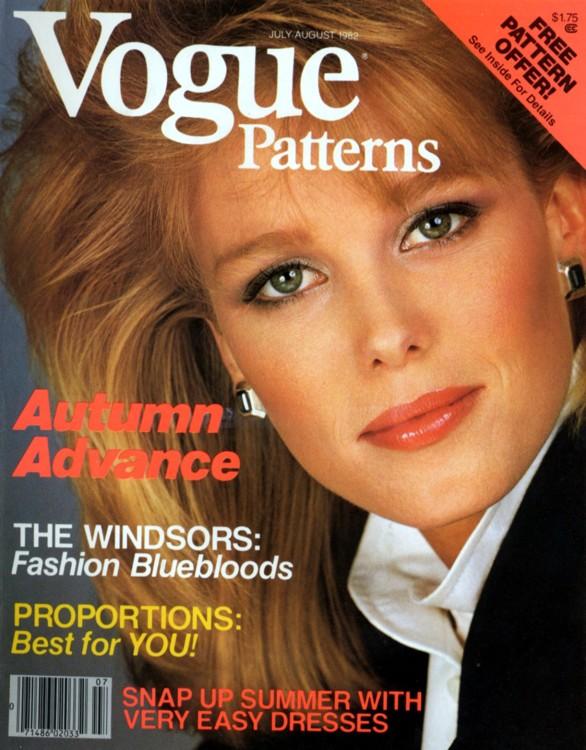 Нэнси Донахью, Vogue US, август 1982 года